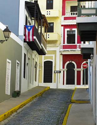 Old San Juan Poster by Carter Jones