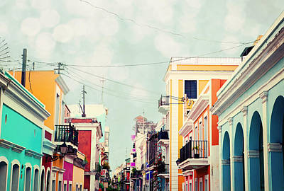 Poster featuring the photograph Old San Juan Special Request by Kim Fearheiley