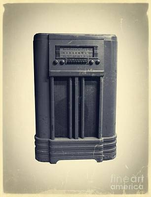 Old School Ipod Poster by Edward Fielding
