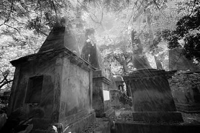 Old South Park Street Cemetery In Kolkata Poster