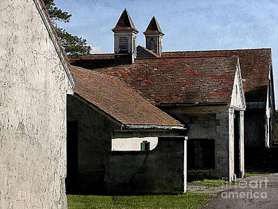 Old Stables At Knox Farm Poster