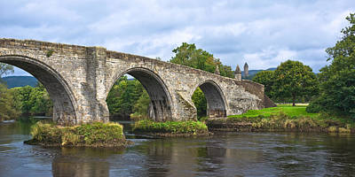 Old Stirling Bridge - Scotland Poster