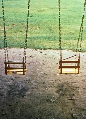 Old Swings In Brookdale Park Poster