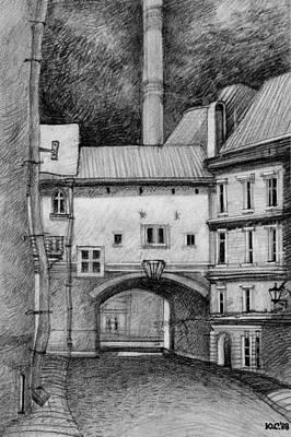 Old Tallinn Poster by Serge Yudin
