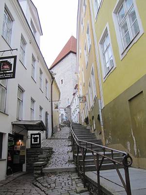 Old Tallinn Street Poster