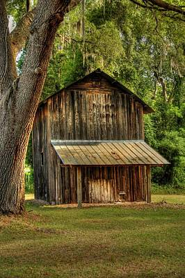 Poster featuring the photograph Old Tobacco Barn by Donald Williams