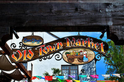 Old Town Market- San Diego Poster by See My  Photos
