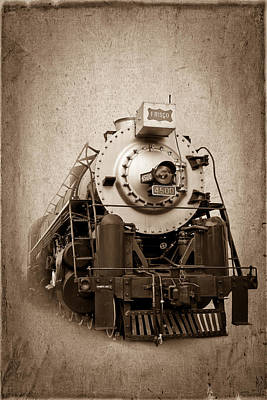 Old Trains Poster