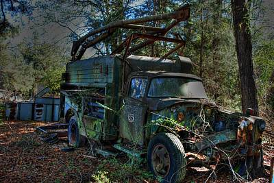 Old Truck 01 Poster by Andy Savelle