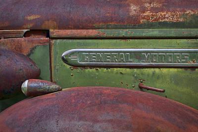 Old Truck - General Motors Poster by Nikolyn McDonald