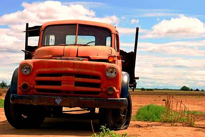 Poster featuring the photograph Old Truck by Matt Harang