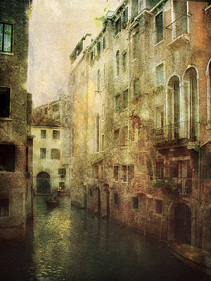 Old Venice Poster by Julie Palencia