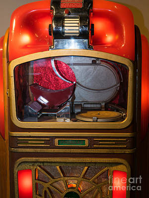 Old Vintage Packard Pla-mor Jukebox Dsc2771 Poster