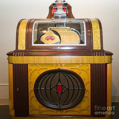 Old Vintage Packard Pla-mor Jukebox Dsc2798 Poster