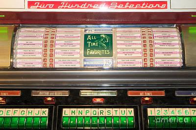 Old Vintage Seeburg Jukebox Dsc2766 Poster