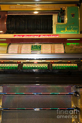Old Vintage Seeburg Jukebox Dsc2768 Poster by Wingsdomain Art and Photography