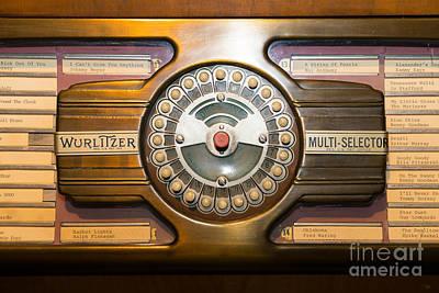 Old Vintage Wurlitzer Jukebox Dsc2813 Poster