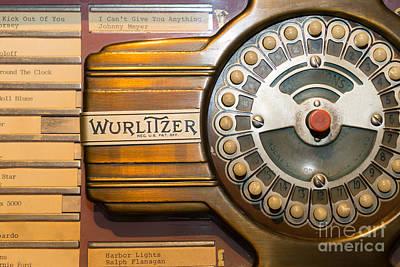 Old Vintage Wurlitzer Jukebox Dsc2814 Poster