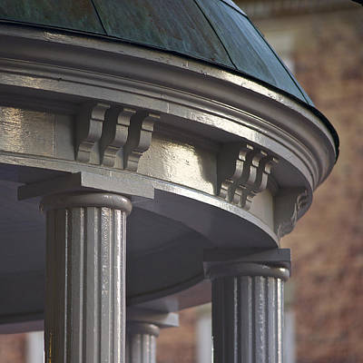 Old Well In Detail - Unc - Chapel Hill Poster