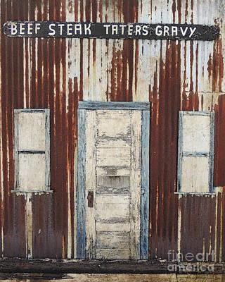 Old West Cafe Poster