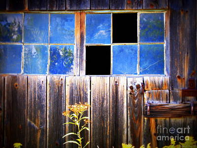 Old Wooden Building Of Broken Dreams Poster