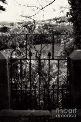 Olde Victorian Gate Leading To A Secret Garden - Peak District - England Poster by Doc Braham