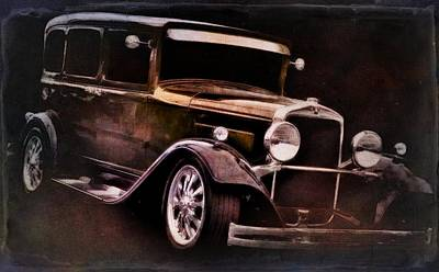 Vintage Cars Poster featuring the photograph Oldie by Aaron Berg