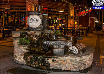 Ole Smoky Tennessee Moonshine Holler Poster by Rob Sellers