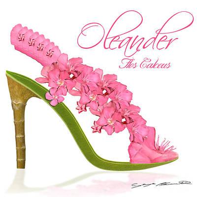 Oleander Flos Calceus Poster