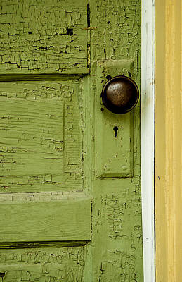 Olive Door Poster