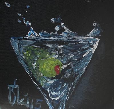Olive Splash Poster