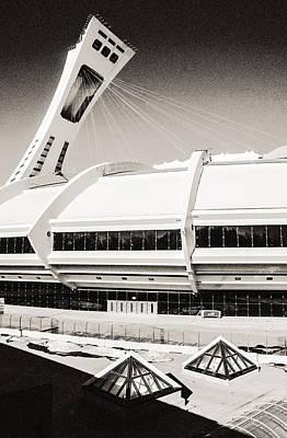 Olympic Stadium Poster by Arkady Kunysz