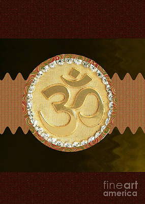 Om Mantra Ommantra Hinduism Symbol Sound Chant Religion Religious Genesis Temple Veda Gita Tantra Ya Poster