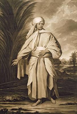Omai, Engraved By John Jacobe, 1777 Mezzotint Poster