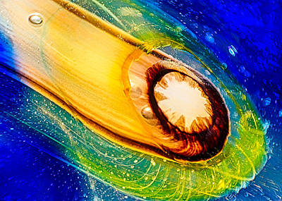 Omaste's Comet Poster by Omaste Witkowski