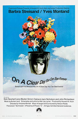 On A Clear Day You Can See Forever, Us Poster by Everett