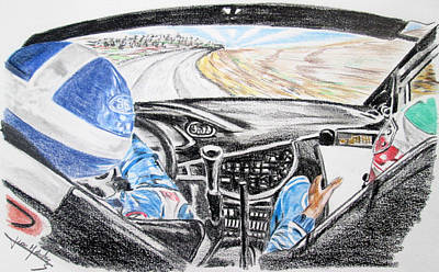 On Board Colin Mcrae Poster by Juan Mendez