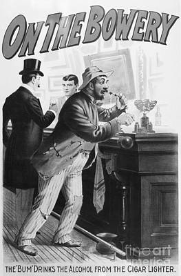 On The Bowery, 1894 Poster