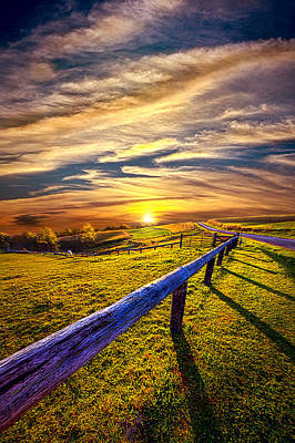On The Brighter Side Poster by Phil Koch