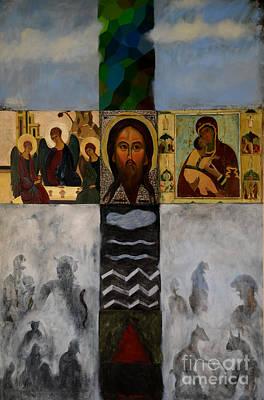 On The Cross Poster by Jukka Nopsanen