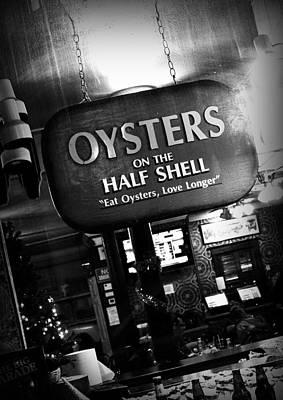 On The Half Shell Poster by Scott Pellegrin