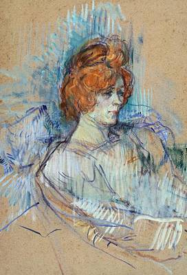 On The Stage Poster by Henri de Toulouse Lautrec