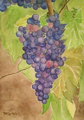 On The Vine Poster by M Carlen