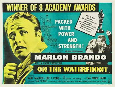 On The Waterfront - 1954 Poster by Georgia Fowler