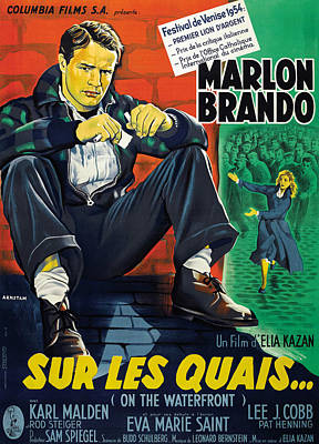 On The Waterfront, Aka Sur Les Quais Poster
