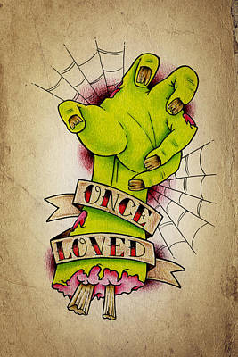 Once Loved Poster by Samuel Whitton