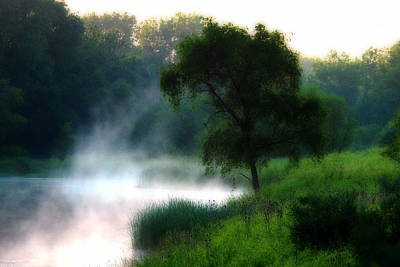 Poster featuring the photograph One Spring Morn by Kimberleigh Ladd