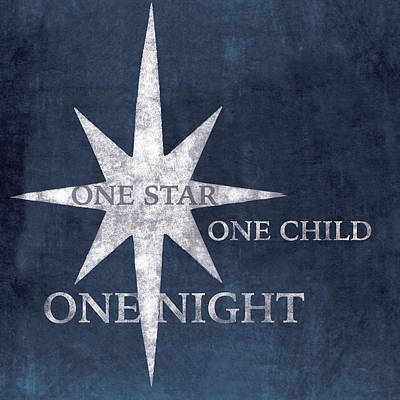 One Star Poster by P.s. Art Studios