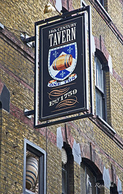 One Tun Tavern Poster by Cheri Randolph