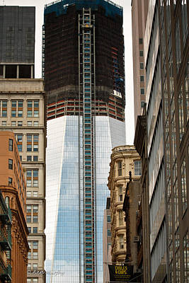 Poster featuring the photograph One World Trade Center #2 by Ann Murphy